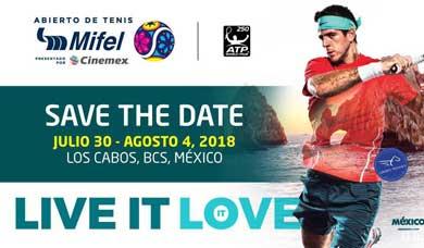 En puerta Torneo de Tenis Los Cabos
