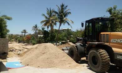 Redoblan esfuerzos  para rehabilitar caminos de la ciudad