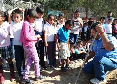 """Avanza certificación de """"Escuelas Verdes"""""""