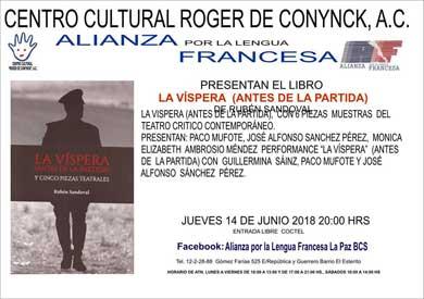 Presentación editorial en la Alianza Francesa