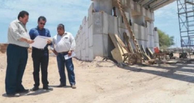 Supervisa el gobernador avances en obras de infraestructura urbana en La Paz