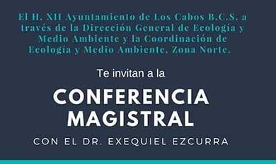 Invita Ecología a conferencia