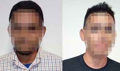 Detuvieron a dos salvadoreños con documentos falsos