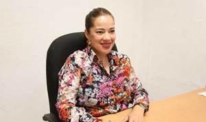 La directora de Atención Ciudadana, Tania Leyzaola.