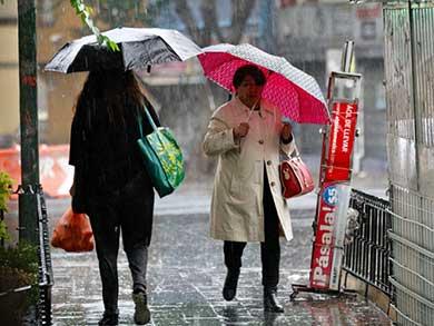 Aliste el paraguas