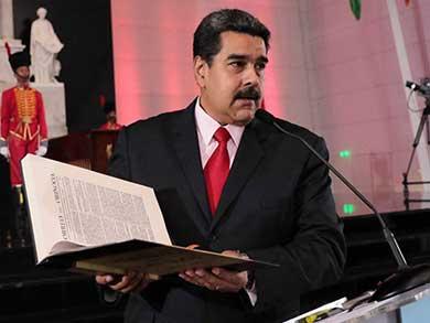 Rechaza Maduro intervención militar de EU