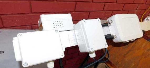 en días recientes se instaló en la Preparatoria José María Morelos y Pavón, un monitor de calidad del aire.
