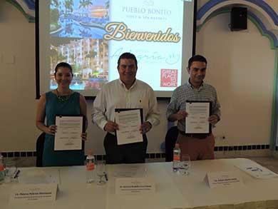Signan Convenio de Colaboración UABCS y Grupo Pueblo Bonito Los Cabos