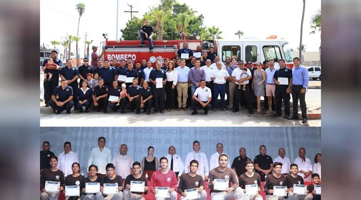 Reconocen labor de los bomberos