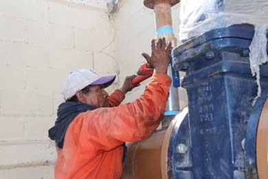 Inician obra para modernizar Cárcamo de Lagunitas
