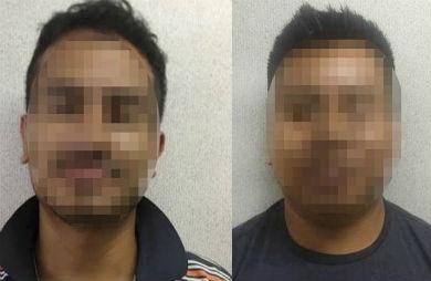 Dos detenidos en los filtros de Santa Rosalía