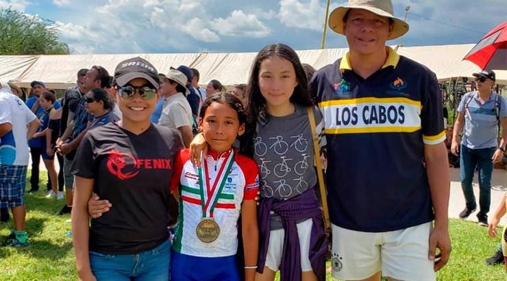 Naby García, una campeona