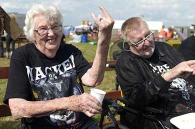Se escaparon del asilo de ancianos