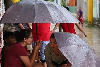 No guarde el paraguas