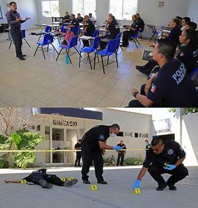 Actualizan a policías de Los Cabos