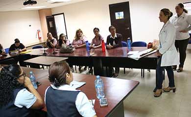 Capacita Secretaría de Salud a personal de la UABCS