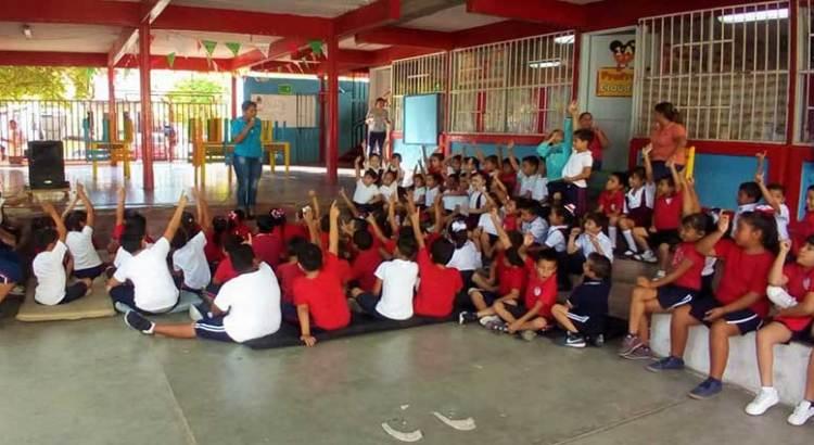 "Realiza PGJE ""Gira preventiva"" en escuelas muleginas"