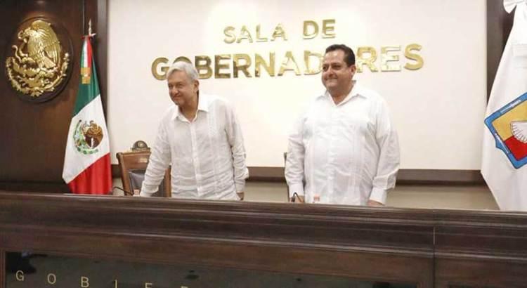 Se reunió el gobernador Mendoza con López Obrador