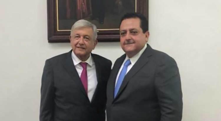 Positivo encuentro con el presidente electo