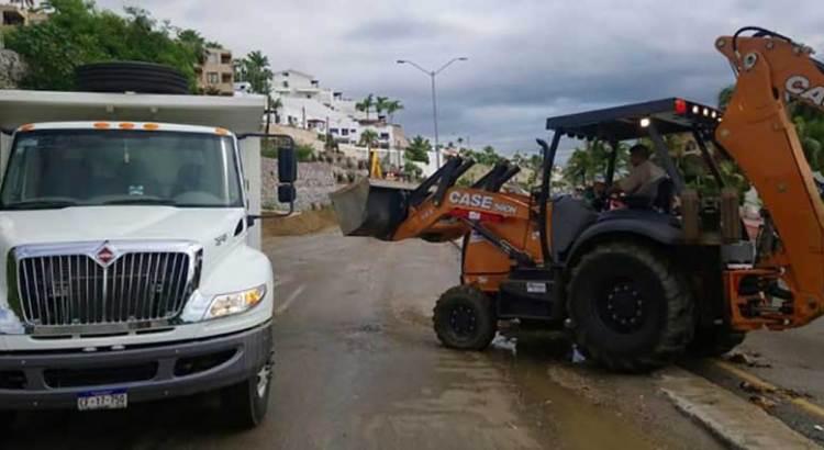 Atiende Servicios Públicos daños ocasionados por lluvia