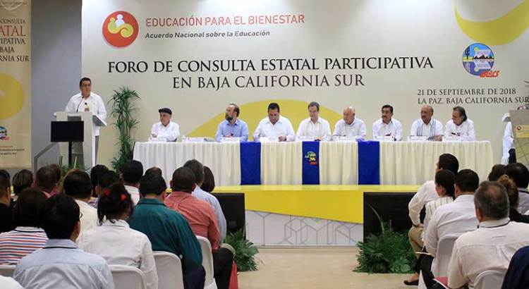 Gran asistencia al Foro de Consulta Educativa
