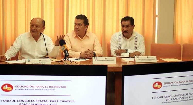 """Será la UABCS sede del foro """"Por un Acuerdo Nacional sobre la Educación"""""""