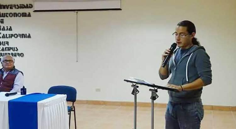 A España alumno de la UABCS GN