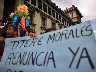 Marcharán tres días en Guatemala