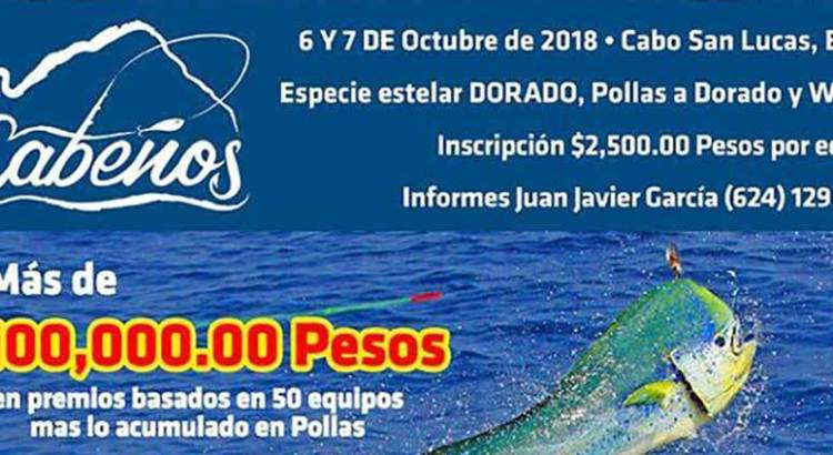 Invitan al torneo de pesca  Cabeños Dorado