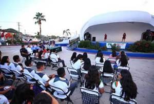 """evento artístico, cultural y de prevención dentro del programa """"Vivir en Paz"""""""