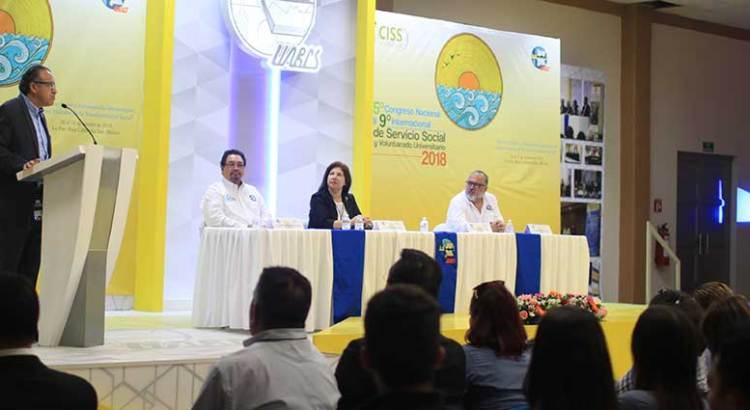 Inicia Congreso de Servicio Social en la UABCS