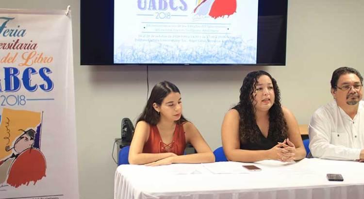 Inicia la Feria Universitaria del Libro UABCS 2018