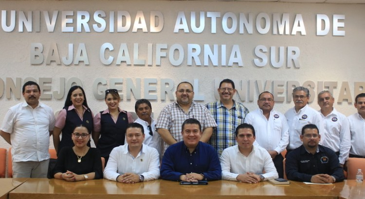 Celebran encuentro líderes sindicales de la UABCS y UAS