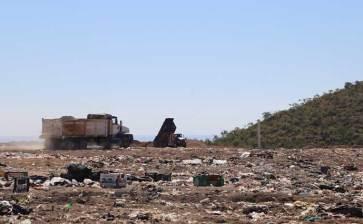 400 toneladas de basura recibe Palo Escopeta