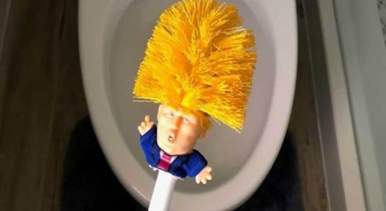 Limpia tu WC con Trump
