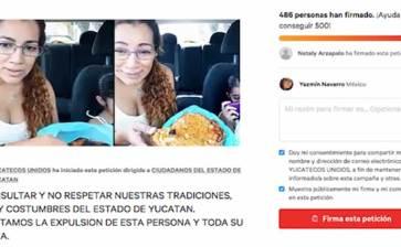 Lanzan petición para desterrarla de Yucatán