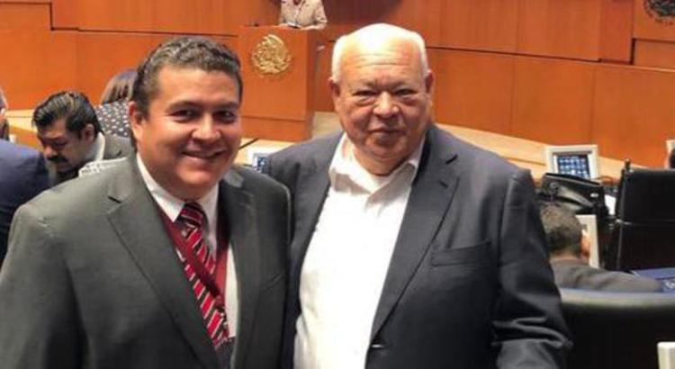 Sostiene Rector de la UABCS encuentro de trabajo con el senador Víctor Castro