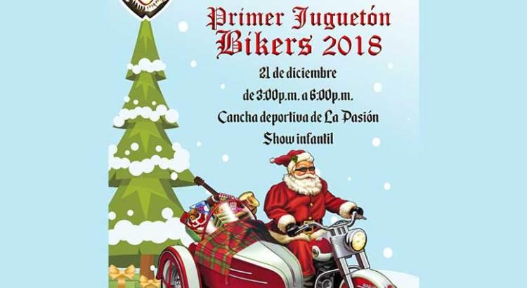 Invitan a participar en Juguetón Biker