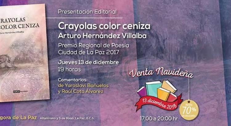 Presentarán «Crayolas color ceniza»
