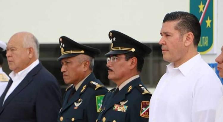 Cambio de mando en la Tercera Zona Militar