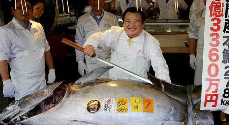 Compró un atún en 3 mdd