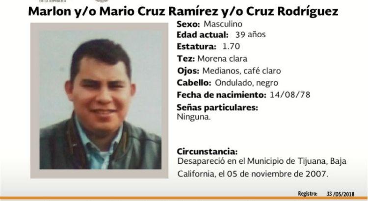 ¿Has visto a Marlon y/o Mario Cruz Ramírez?