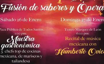 Opera y cocina en Todos Santos