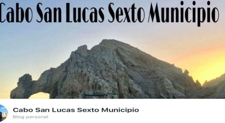 """Nace la página """"Cabo San Lucas Sexto Municipio"""""""