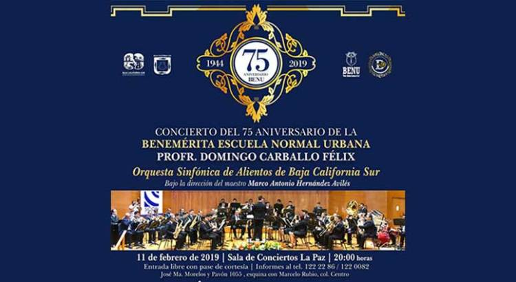 Celebra la BENU su 75 aniversario