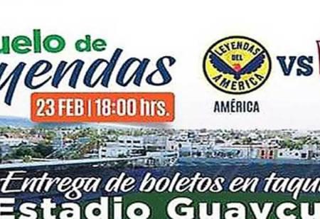 Bara, bara, lleve sus boletos para el Aguilas- Chivas