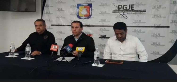 Confirma PGJE detención de 4 presuntos narcos