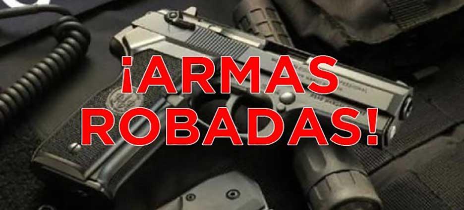 Roban sus armas a Policías de Insurgentes