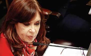 Enjuiciarán a Cristina Fernández