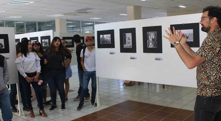 Inauguran exposición fotográfica en la UABCS